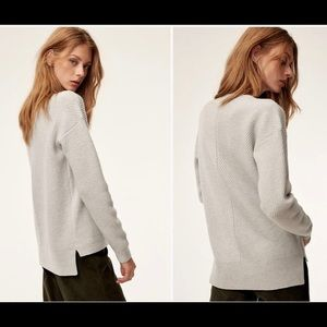 Aritzia Wilfred Free Isabelli Sweater